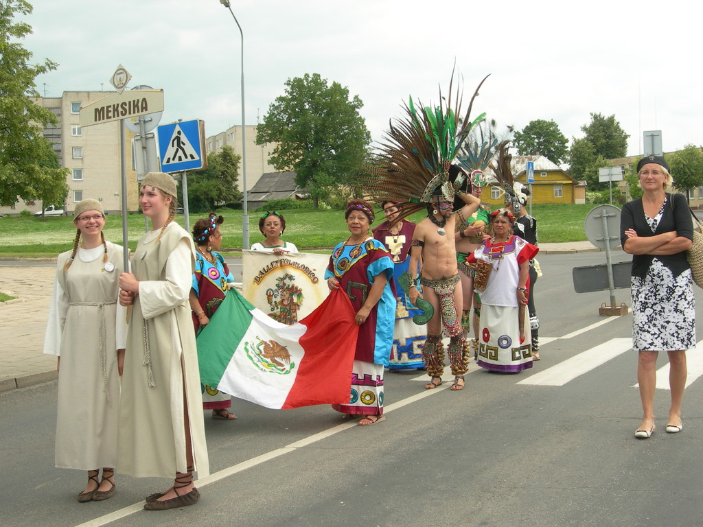 Spalvingasis Meksikos kolektyvas