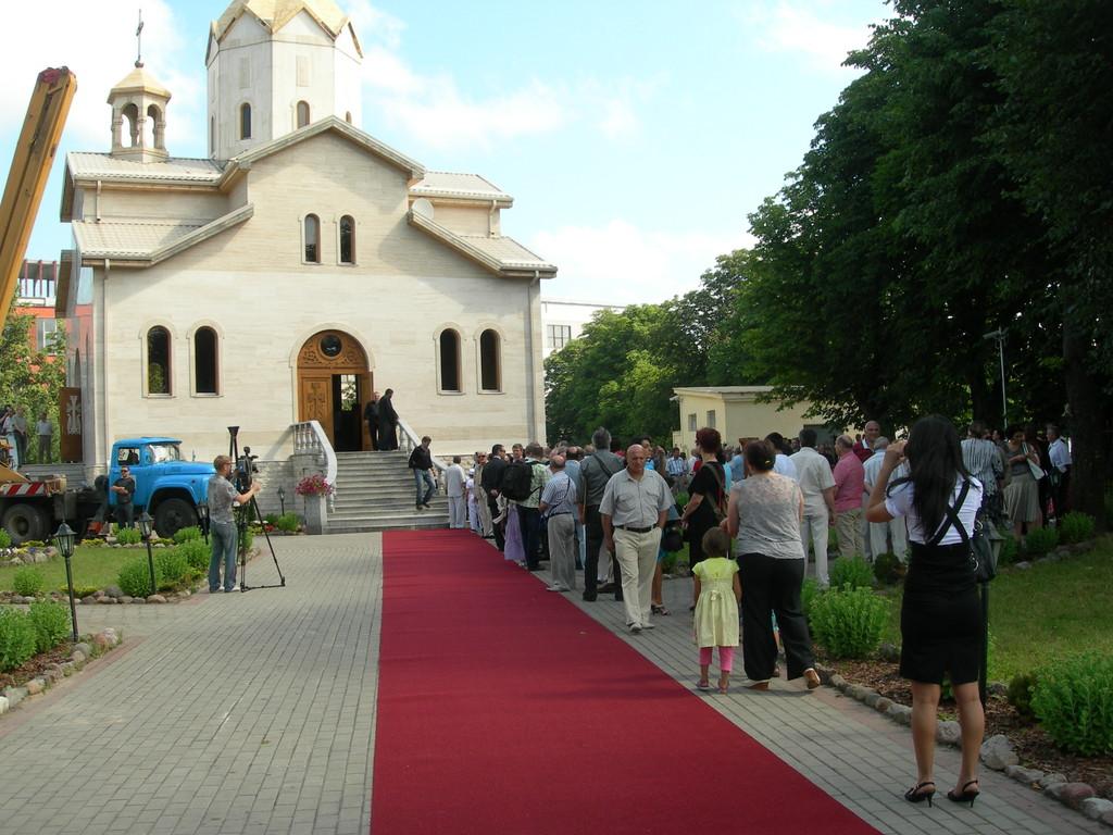 Armėnų bažnyčia Rygoje.