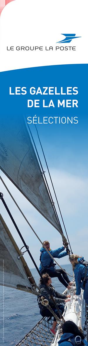 Les Gazelles de la Mer, Sélection 2017, Le Groupe LA POSTE, La Tall Ships Regatta à bord du Belem, un nouveau défi proposé à toutes les femmes du groupe LA POSTE