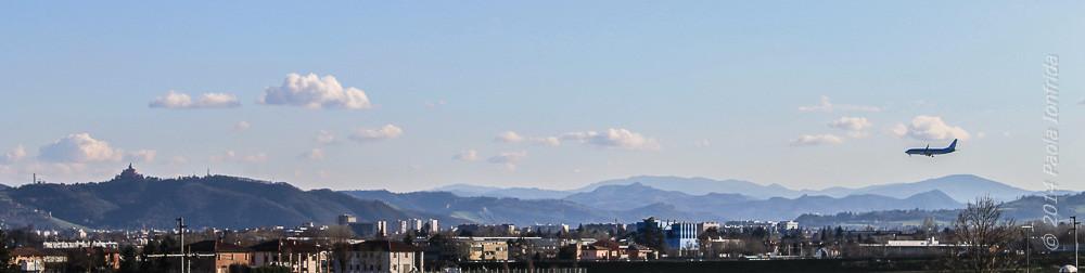 Panorama su Bologna