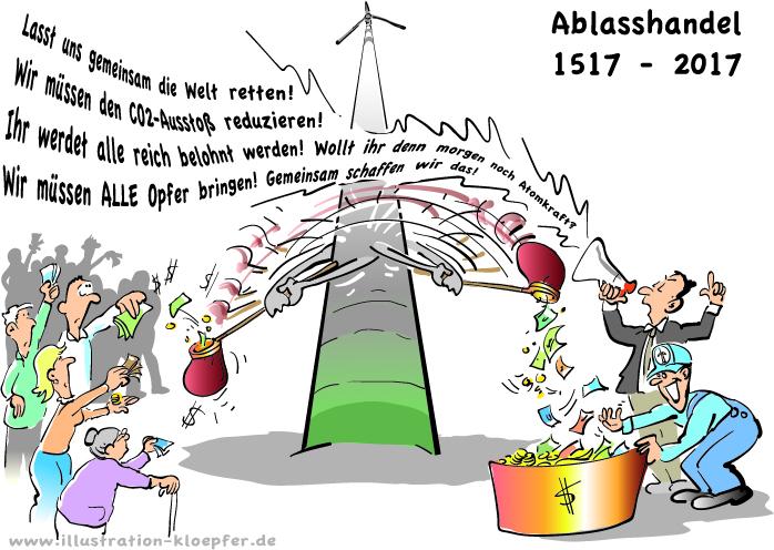 Ablasshandel 2017 - Windkraftanlagen im Odenwald
