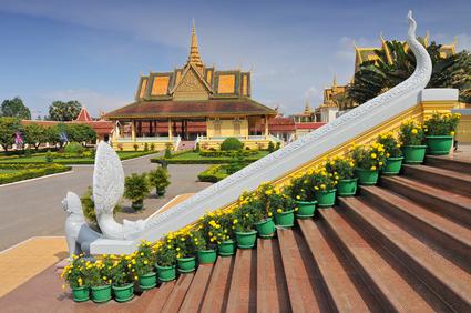 Der Königspalast in der Hauptstadt Siem Reap.