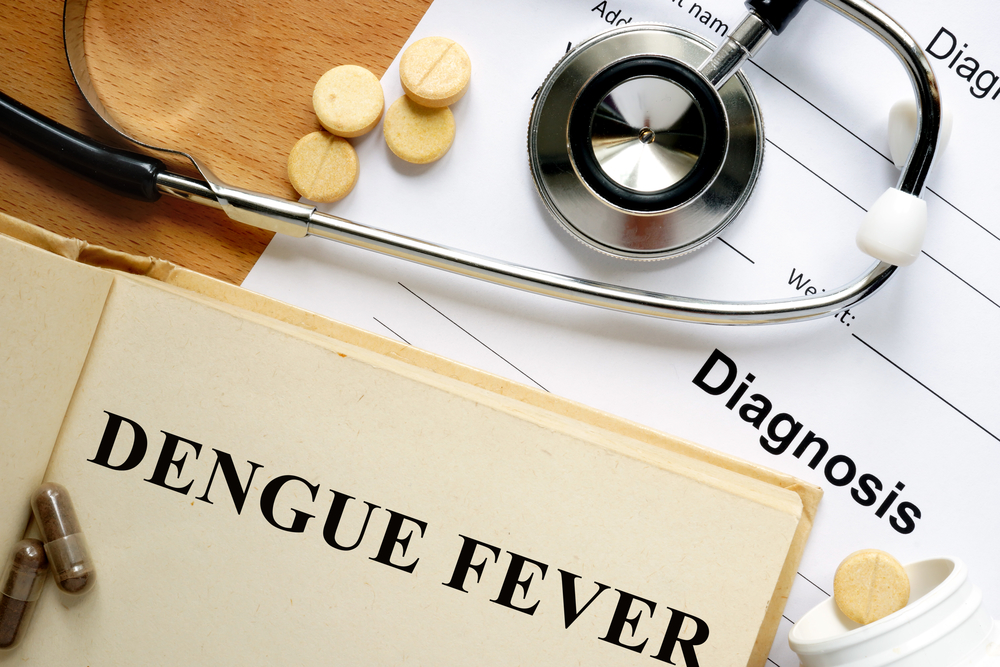Diagnose Dengue-Fieber.