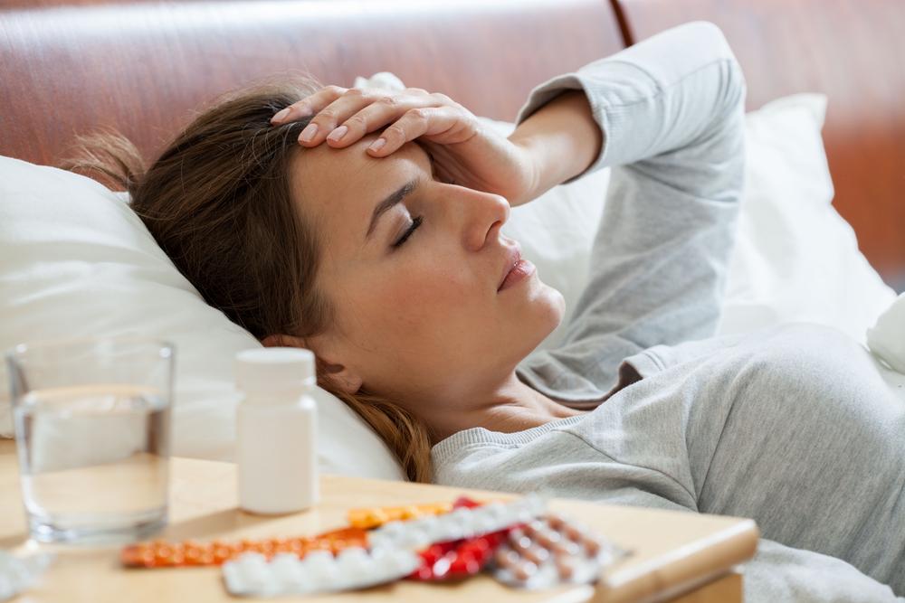 Mit Dengue im Bett. Das kann einem richtig den Urlaub verderben.