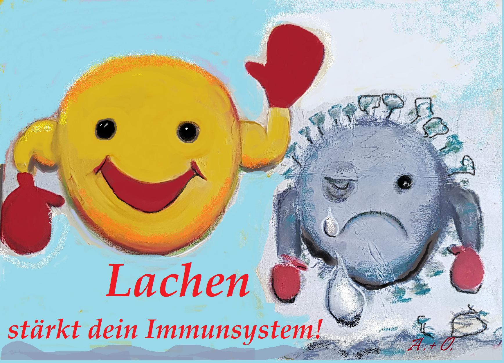 Lachen stärkt dein Immunsystem