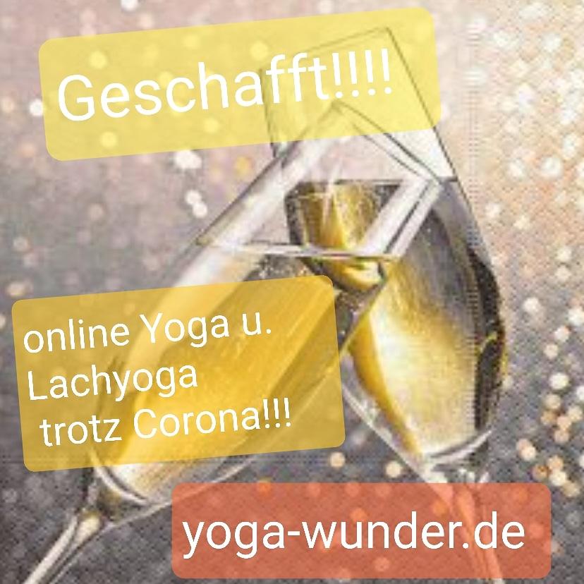Yogaschule in Feierlaune!!!