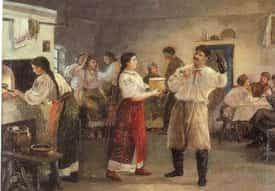 вечорниці, козацькі гулянки, українські свята