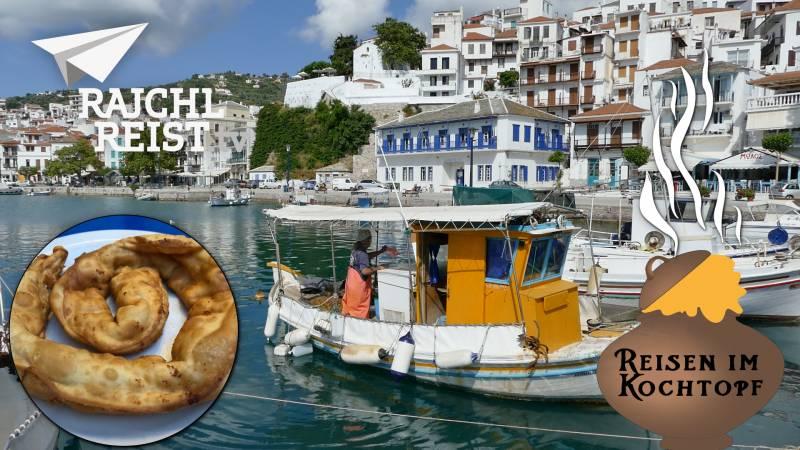 Griechenland: Käsepasteten aus Skopelos