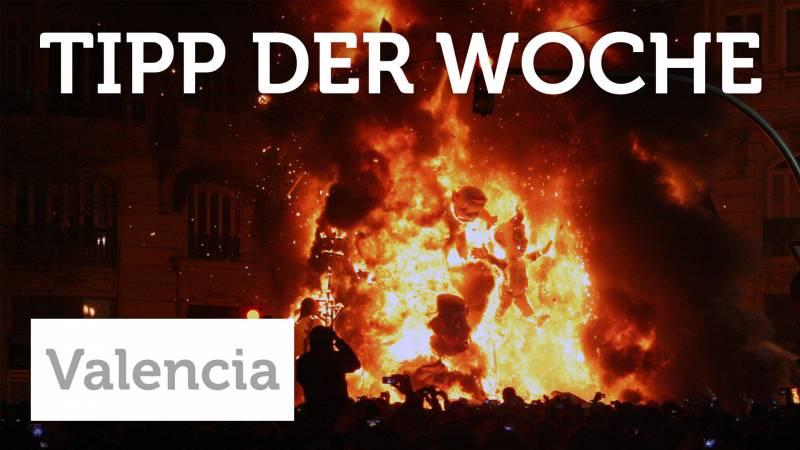 Wenn in Valencia Puppen brennen