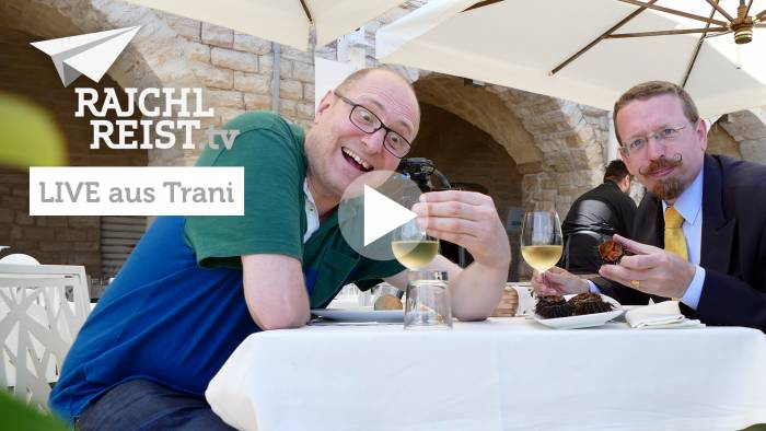 Live-Tipps aus Apulien: Seeigel essen in Trani