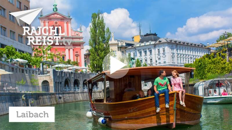 Ljubljana: City-Boot, Napoleon und Busen-Käse