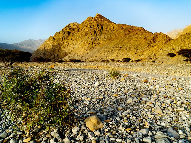 Jebel Jais: Faszinierende Steinwüste
