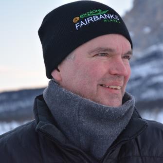 Scott McCrea, Tourismusdirektor Explore Fairbanks