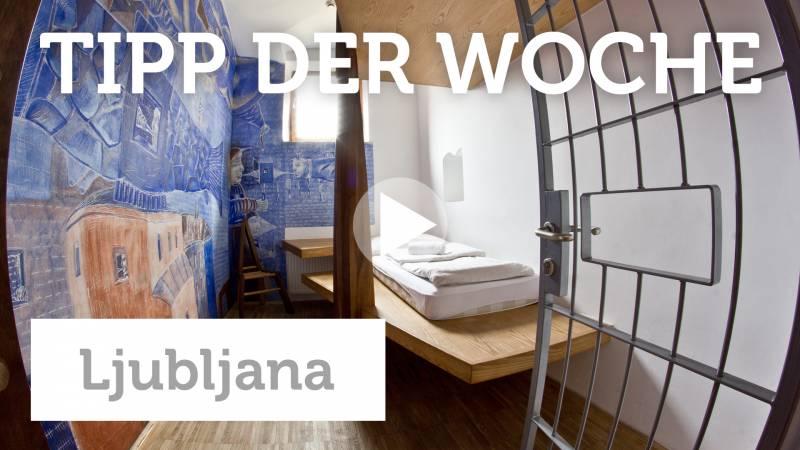 Ljubljana: Schlafen im Gefängnis