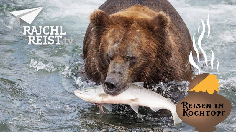 Alaska: Der Trick mit dem Lachs
