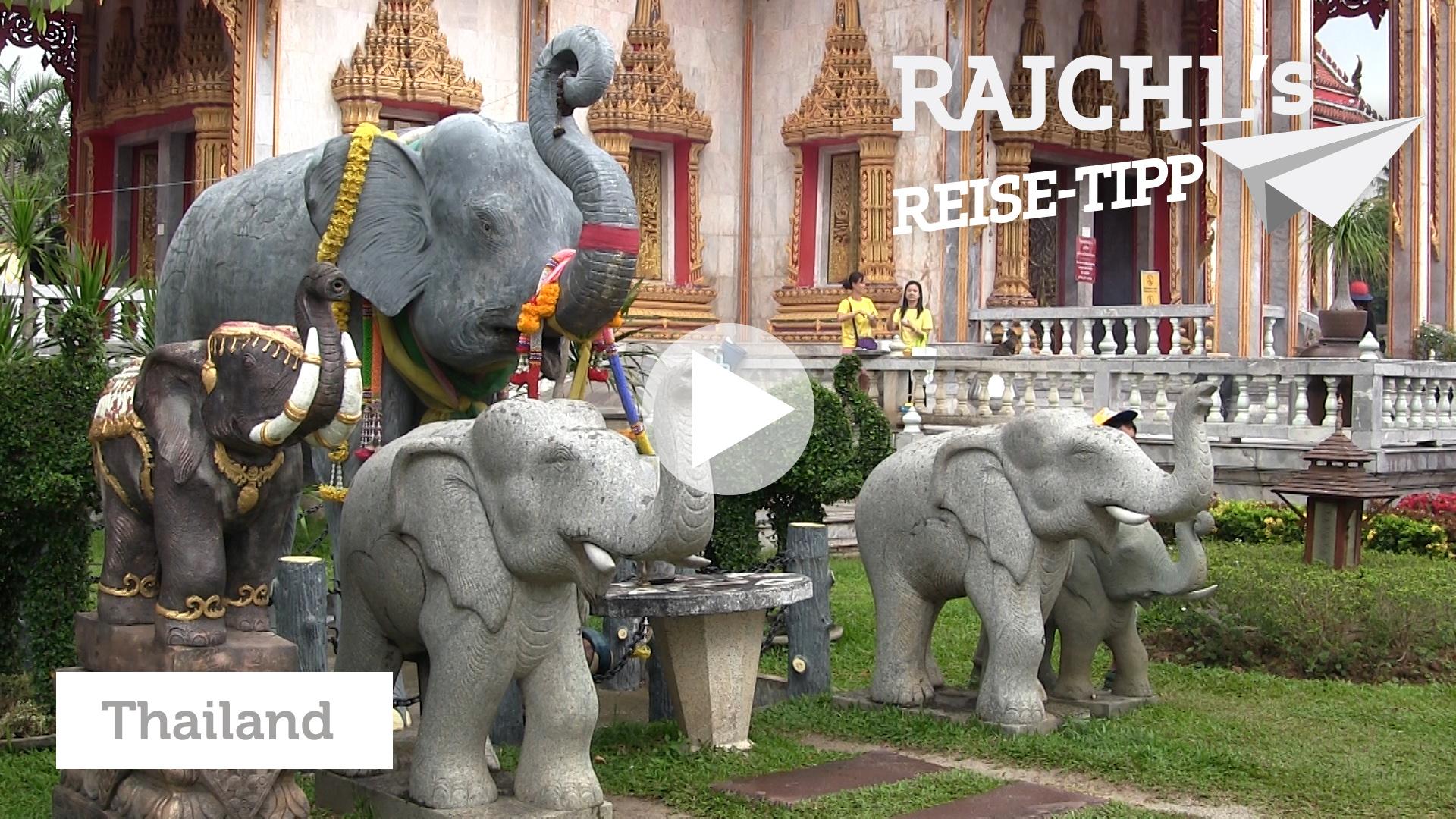 Phuket: Täglich Silvester-Krach im Thai-Tempel