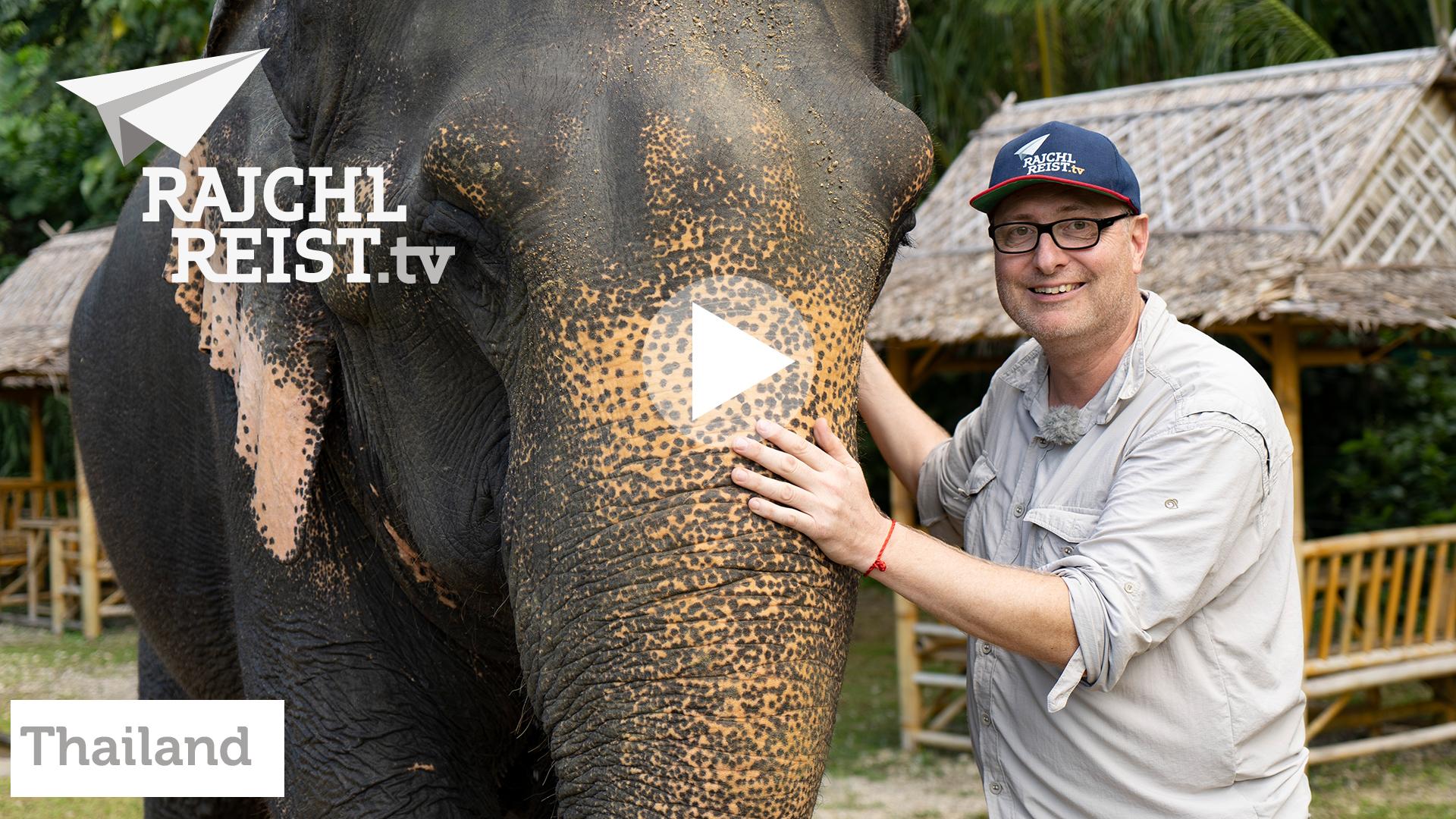 Warum ich beim Elefanten waschen nicht nass geworden bin