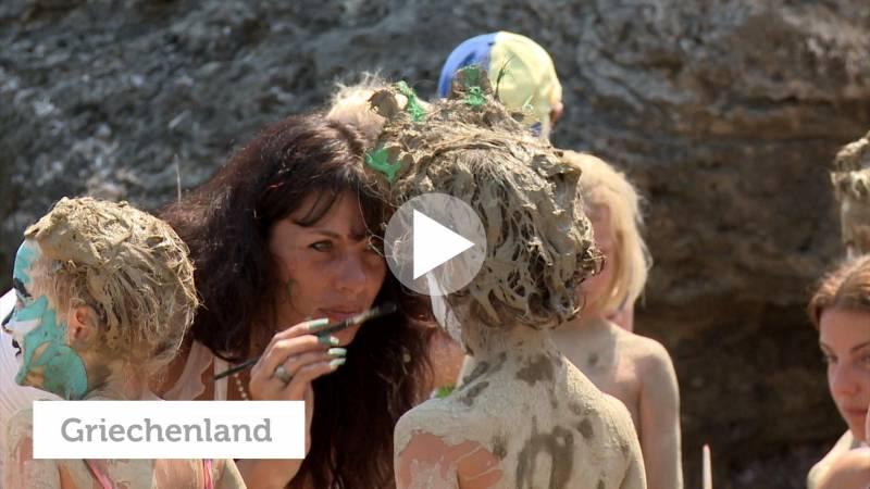 Griechenland: Handy-Videos & Körper-Percussion