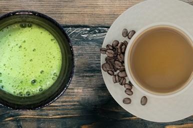 Bild: Matcha-Tee und Koffein