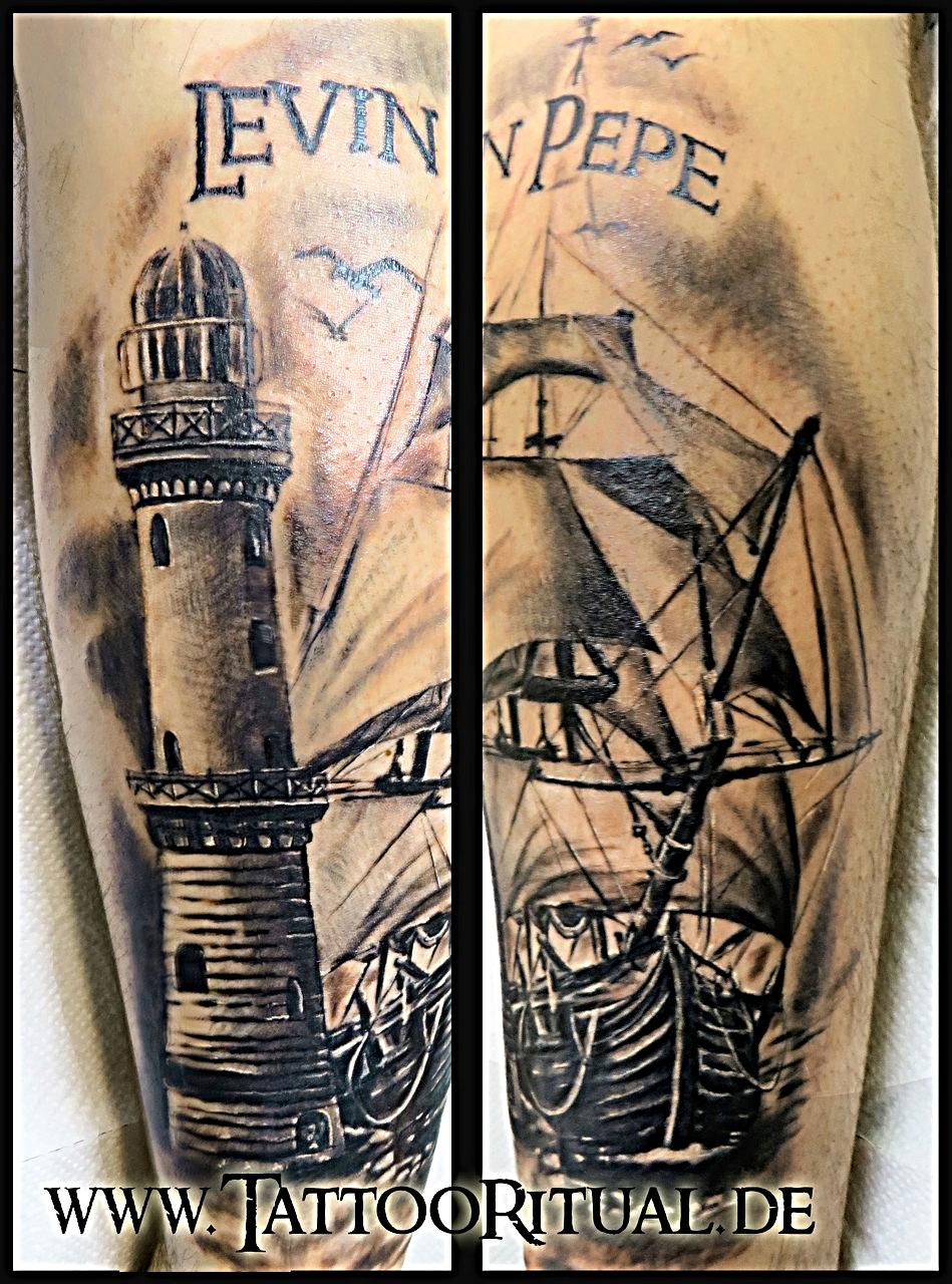 Der tattoodoktor in l beck rostock erste hilfe und letzte rettung tattooritual dein - Tattoo leuchtturm ...