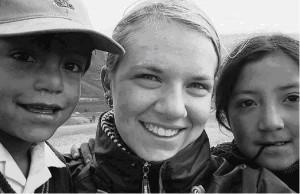 Die 18-jährige Spaichingerin Sarah Lechler ist seit August in Ecuador und unterrichtet Kinder im Fach Englisch.
