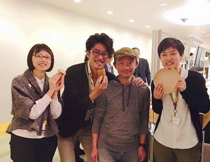 内田洋行本社にてデザイナーの皆さまと