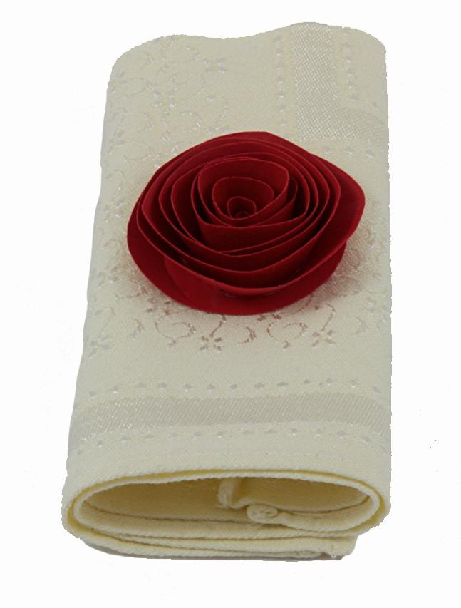 Papierblumen Dekoration