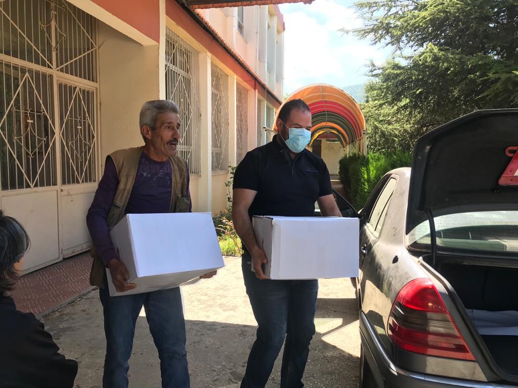 ICO Corona-Nothilfe: Lebensmittelverteilung in Kobayat