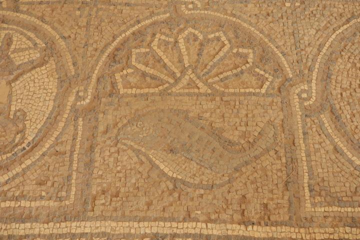 In der Stadt Madaba befindet sich das älteste bislang bekannte geografische Bodenmosaik der Kunstgeschichte.