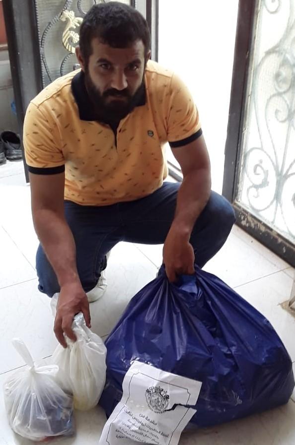 ICO-Corona Soforthilfe in Jordanien: Lebensmittel werden verteilt
