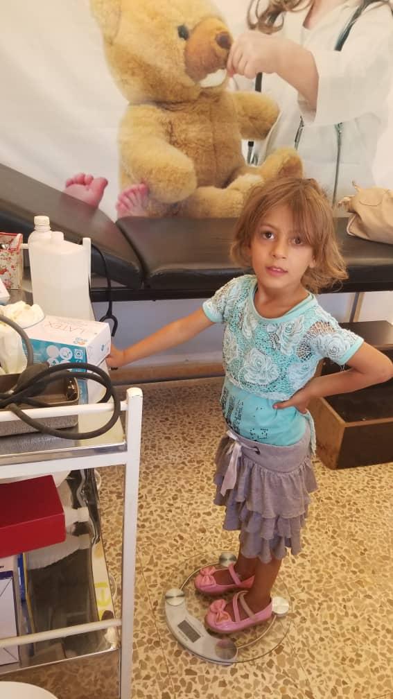 Kirchliche Kinderklinik in Homs
