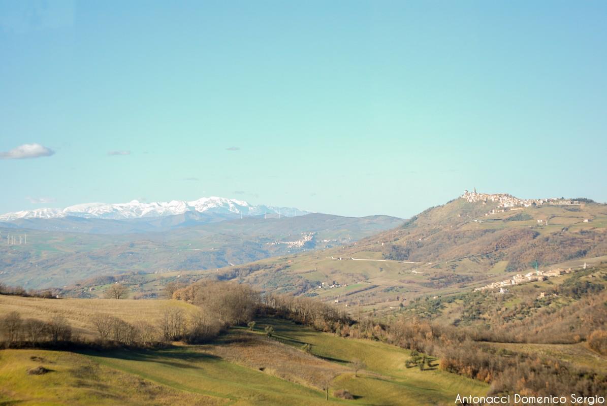 Morrone del Sannio e, oltre, ancora la Maiella