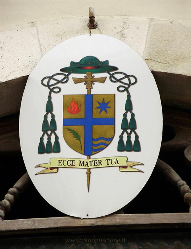 Stemma episcopale di mons. Gianfranco de Luca vescovo di Termoli-Larino