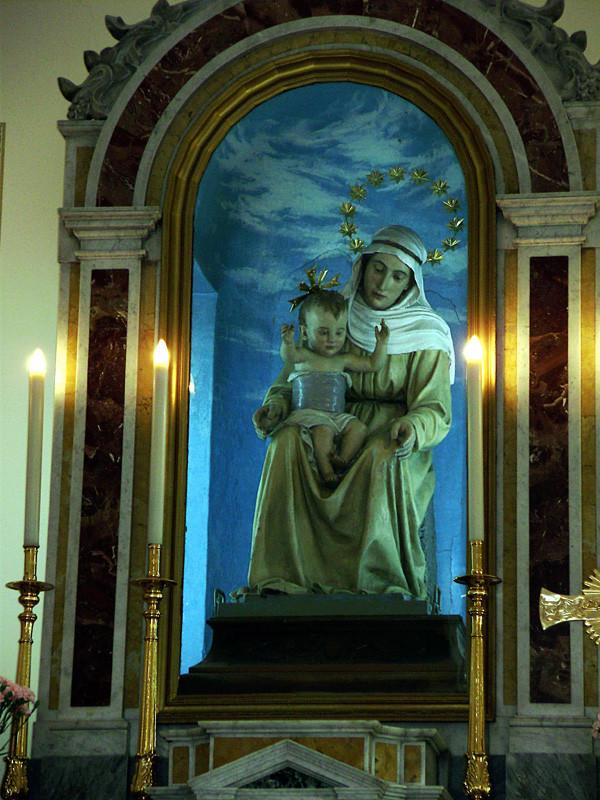 la statua fittile giunse in paese la quarta domenica di settembre del 1901 ...