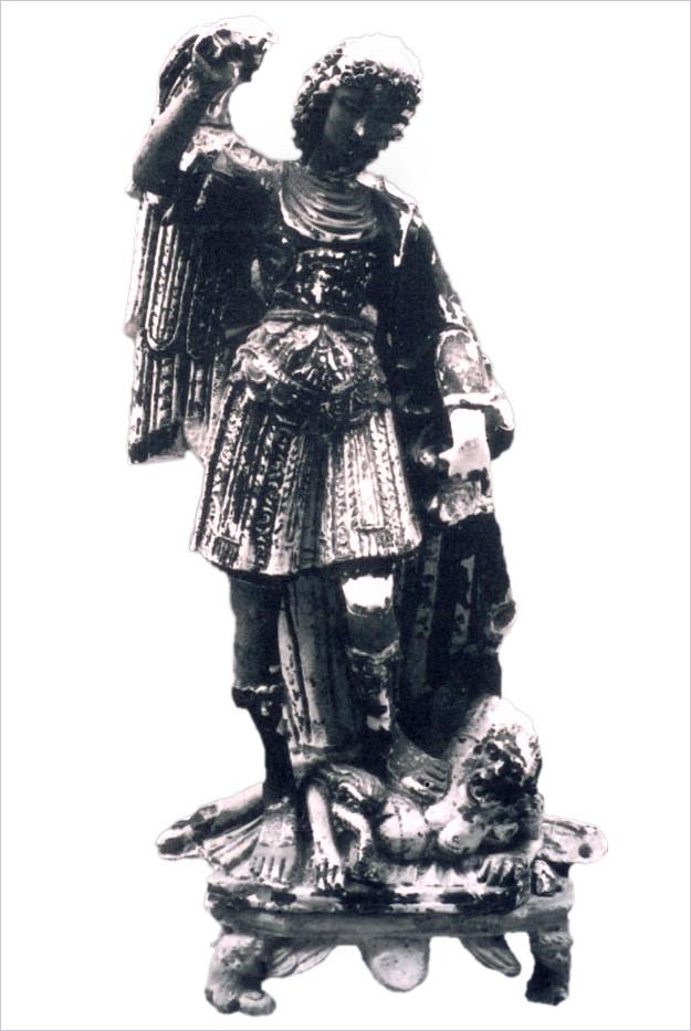 Statua di S. Michele Larino