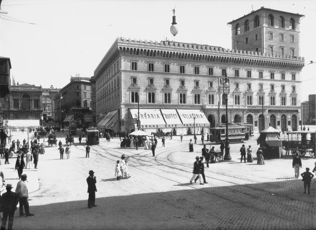 Piazza Venezia negli anni della Grande Guerra