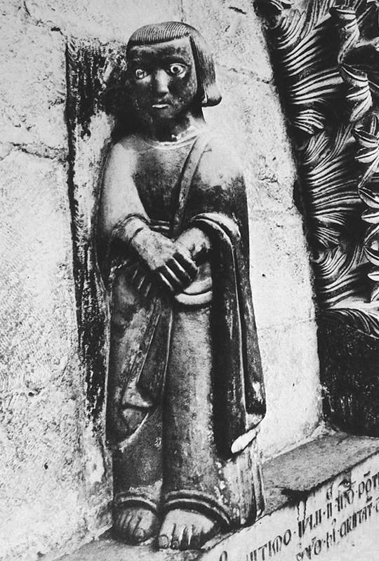 S. Giovanni ai piedi della Croce [da Calò Mariani, Due Cattedrali del Molise. Termoli e Larino, Roma 1979]