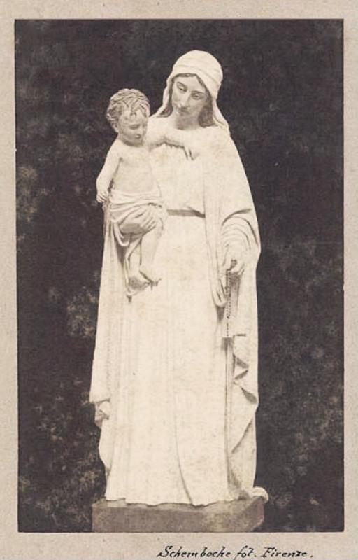 A. DUPRÉ, Maria SS. della Difesa (1899), la prima versione della statua, al presente custodita nella Chiesa madre di S. Maria Maggiore a Casacalenda