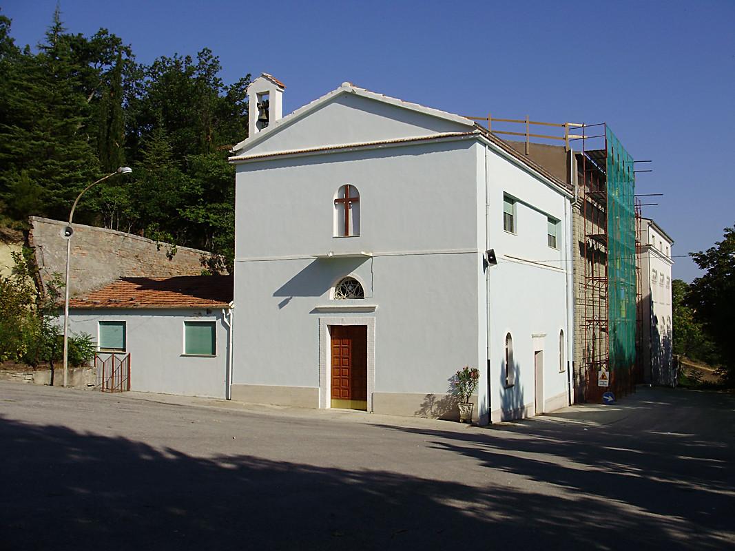 ... la modesta Cappella rurale, ultimata nel 1898 ...