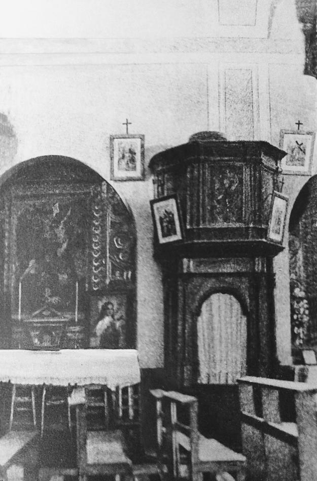 Confessionale chiesa Santa Maria delle Grazie San Giovanni Rotondo 1935