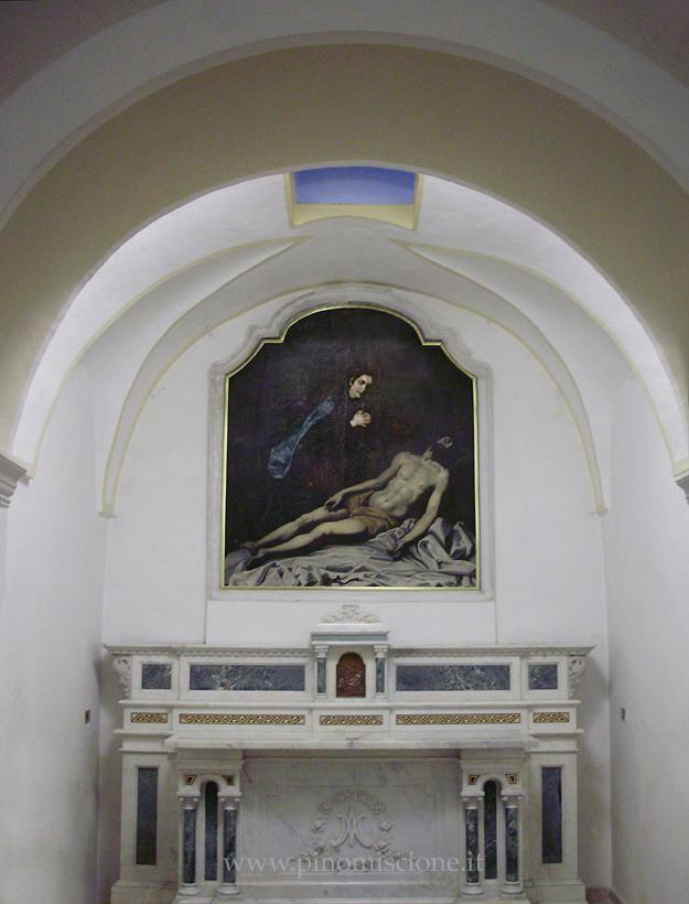 Antonio Solario detto lo Zingaro Madonna della Croce nel Convento dei Cappuccini Larino