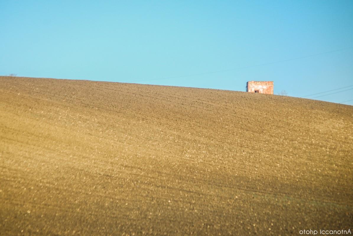 colline arate di fresco nelle Piane di Larino