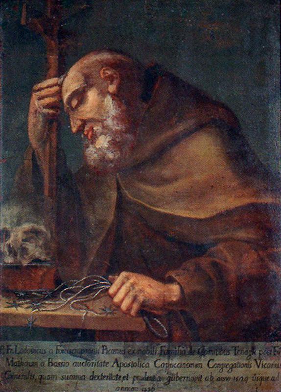 ANONIMO, padre Ludovico da Fossombrone (1656)