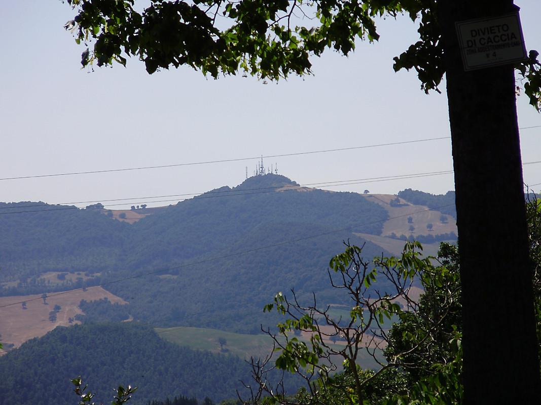 ... il Cerro del Ruccolo (888 m) ...