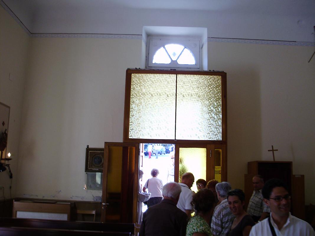 finisce la Santa Messa domenicale