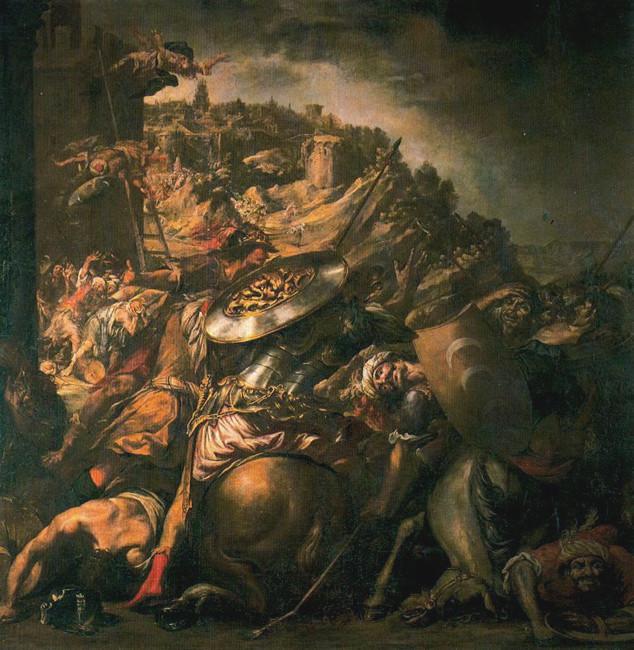Juan de Valdés Leal La ritirata dei Saraceni