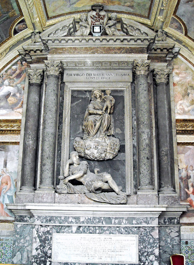 Michelangelo Naccherino, Monumento funebre Alonso Sanchez de Luna