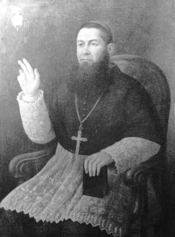 Il Presule in un ritratto esposto nella Pinacoteca della Cattedrale di S. Pardo [foto Archivio Pilone]