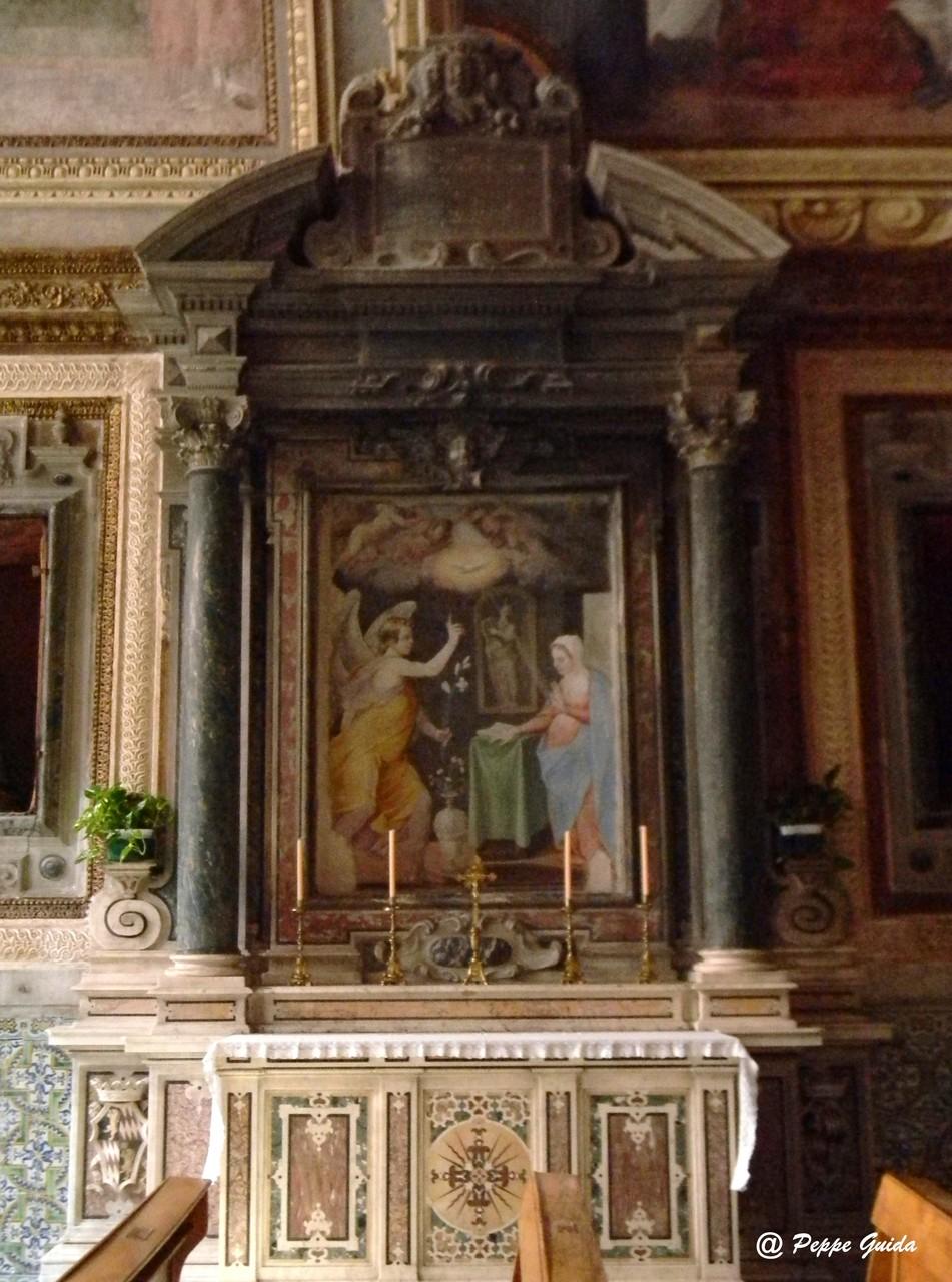 Altare dell'Annunciazione (1598 ca.) [foto Peppe Guida]