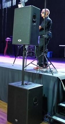 muzička oprema za koncerte u Švajcarskoj